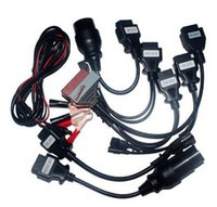 Wholesale Pro Tools Interface - CAR CABLE OBD OBD2 full set 8 car cables diagnostic Tool Interface cable for TCS pro