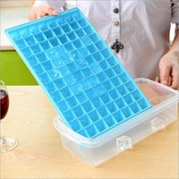 Wholesale 96 Cells Ice Cube Tray Maker Moulds Chocolate Jelly Sweet Candy Trays Random Color