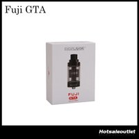 Digiflavor Fuji GTA Genisis Tank-Atomizer 6ml Single Coil Version und 5,5 ml Dual Coil Version GTA-Behälter 100% Vorlage