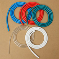 Wholesale Wholesale Water Meters - Wholesale- New Computer Water-cooled Hose Diameter 8MM Diameter 12MM Tube 2 Meters Long Red Blue Green White Transparent Colored Optional