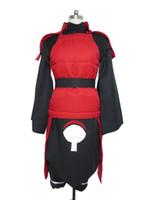 Wholesale female naruto cosplay online - Naruto Madara Uchiha Cosplay Costume