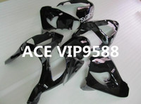 Wholesale Ninja Fairing Zx9r - 3 gifts Motorcycle Fairing kit for KAWASAKI Ninja ZX9R 02 03 ZX 9R 2002 2003 zx9r 02 03 ABS Compression mold Fairings set Black S5