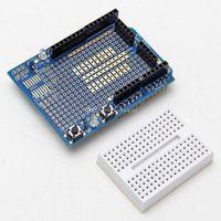 Wholesale Arduino Protoshield - Arduino 328P MEGA Prototype Shield ProtoShield V3 Expansion Mini Bread Board B00289 OSTH