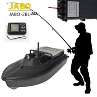Wholesale Jabo Ship - Wholesale-Free Shipping!JABO-2BL-20A Profession High Speed 300M Fish Finder Night Led Sonar RC Bait Boat
