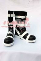 Wholesale Soul Eater Free Cosplay - Wholesale-Anime Soul Eater Maka Albarn Cosplay Boots costume shoes Custom Made Halloween Free Shipping
