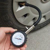 Wholesale Motor Vehicle System - Wholesale-Meter Tire Pressure Gauge 0-100PSI Auto Car Bike Motor Tyre Air Pressure Gauge Meter Vehicle Tester monitoring system Dial Meter