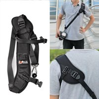 Wholesale sling belt for dslr - 2016 HOT Dedicated Photography F Anti Slip Quick Rapid Shoulder Sling Belt Neck Strap for Camera DSLR