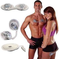 Wholesale Gym Form - Electronic muscle toner fitness system body massage GYM form duo for foot neck back amy therapy slimming Health care massager