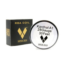 Wholesale 22 Wire - Vapor Tech Kanthal A1 Resistance Wire 30 Feet 22 24 32 awg Gauge Coil Wires DIY Atomizer vape mods RDA