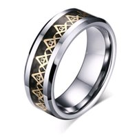 Wholesale Cheap Titanium Engagement Rings - 2pcs Titanium steel jewelry wholesale ring best-selling customizable rings stainless steel ring Fashion cheap for Men Power Chain Party
