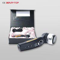 Wholesale Rf Face Handle - Handle Vibrate Black Monopolar RF Skin Care Beauty Device for Home Use
