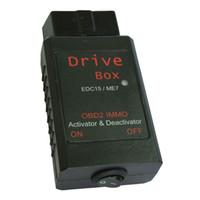 Wholesale Drive Box Edc15 - VAG Drive Box OBD2 OBD2 IMMO Deactivator Activator for Bosch EDC15 ME7 VAG IMMO Deactivator