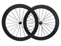 Wholesale Novatec 291 Hubs - 50mm carbon road bike wheelset 20.5mm wide novatec 291-482 hub cycling bicycles wheels 700C matte finish Big Sale Free shipping