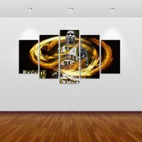 Oil Painting sports picture frames - 5 Set No Framed HD printed painting popular sport poster canvas print art modern home decor wall art picture for living room