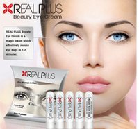 Wholesale Reduce Cream - Real Plus Beauty Eye Cream Reduce Eye Bag in 1-2 Minutes Magic Cream Girl Face Skin Care 2016