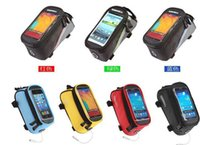 Wholesale Dirt Bike Tubes - 5.5 inch ROSWHEEL 12496 Cycling Bike Bicycle Frame Front Tube Bag Pouch Case