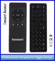 Wholesale Tronsmart Air Mouse Remote - Keyboard Remote control for TV Tronsmart TMS01 TSM-01 Air Mouse mini Box Motion Sensing Games DHL free
