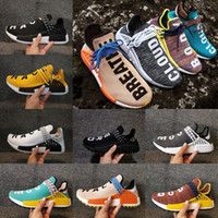 Wholesale Fishing Snow - 2018 Big size Hu NMD Human Race Trail boost Shoes mens womens Running shoes ultra boost outdoor Sport Sneakers Eur 36-47 eur 36-45