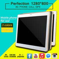 phablet 1gb rom 16gb ram großhandel-10 Zoll 3G Phablet Viererkabel-Kern 1280 * 800px Schirm Capactive Tablets PC Android6.0 RAM 1GB ROM 16GB mit Sim Karten Schlitz Gps Wifi Otg Doppelkamera