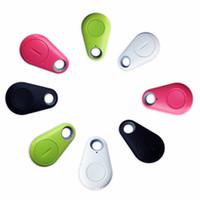 buscador de llavero al por mayor-Control remoto inalámbrico Itag tracer Bluetooth 4.0 Tracker Keychain Buscador de claves Localizador GPS Práctico Mini Alarma Anti-perdida para Child Wallet Pet