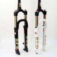 "Wholesale Mountain Bike Air Forks - DFS air fork DFS-RLC-TP 26er 27.5er suspension mountain bike bicycle MTB fork lock out damping adjust 100mm travel 1-1 8""TP1-1 2"