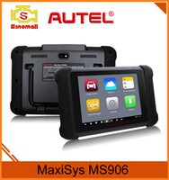 Wholesale Opel Rear Camera - Original Autel MaxiSYS MS906 professional diagnostic tool Built-in 8-megapixel rear camera with autofocus and flashlight Autel MS 906