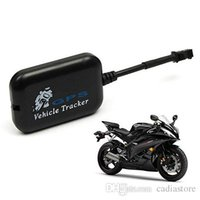 Wholesale Monitor Gps Motorcycle - Mini Vehicle Motorcycle Bike GPS GSM GPRS RealTime Tracker Monitor Tracking G00240