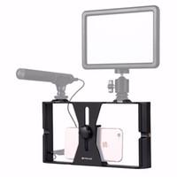Wholesale Rig Video - PULUZ HandheldRig Handle Film Making Rig Stabilizer Steadicam Bracket Holder Cradle Phone Clip for smart phone Video Rig