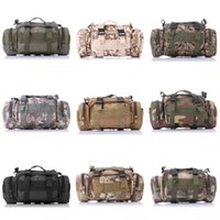 Wholesale Camo Duffel Bag - 15L 3P Camo Multifunctional Waist Bag Fanny Pack Water Repellent Waist Pack for outdoor Camping Hiking Mountaineering Running E598L