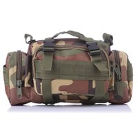 outdoor travel adventures - Multi function Backpacks Climbing Outdoor Adventure Tactical Gear Water Resistance Camo black waist bag hot selling