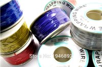 Wholesale Wire Wrap Cable - Wholesale-High quality electrical Wire Wrapping Wire Wrap 10 Colors Single strand copper AWG30 Cable OK Wire & PCB Wire