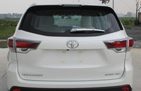 Wholesale toyota highlander accessories for sale - Group buy Accessories fit for Toyota Highlander car styling ABS chrome rear wiper trim decoration year Overlay Garnish Molding