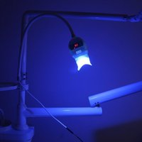 Wholesale Cheap Tool Sell - hot sell (dental chair style) Cheap 6 LED cold light Blue lights led professional teeth whitening lamp