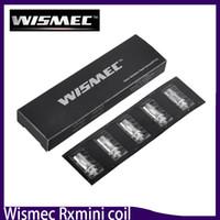 Wholesale Triple Coils - Wismec Amor Mini Coil 0.2Ohm Triple Sub Ohm Atomizer Head Fits for Rxmini kit Reuleaux Kit RXmini Kit Reux Mini Tank 0266140-1
