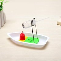 Wholesale Diy Boat For Kid - 1 Set Science Experiment DIY Educational Steam Boat Toys For Children Kids Students Teachers Cognitive Handwork Learning Gifts