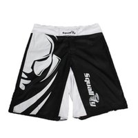 Wholesale Fight Shop - Wholesale-2016 new MMA boxing shorts mens mma Muay Thai boxing fight shorts mixed martial arts sport trunks Muay Thai pants Free shopping