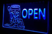 Wholesale girl bar neon light sign - LS449-b Duff Beer OPEN Bar Girl Neon Light Sign