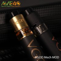 Wholesale Pro Vent - Original VGOD Pro Mech Mod 24mm Diameter 5 Large Vent Holes 510 Connecttion Best Matching with VGOD trick pro tank