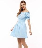 Wholesale Summer Cotton Short Sleeve Dresses - 100% cotton New 2016 Autumn summer Women Dress short Sleeve Casual plus size Dresses Vestidos WC380-1