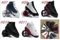 Wholesale Pre Walker White Shoes - Kids 13 XI Space Jam Shoes Little Baby Boys Girls Toddlers 13s Gamma Concord Bred Pre-Walkers Sneaker 6C-10C
