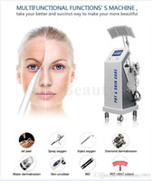 Wholesale Multifunctional Beauty Equipment - Salon Use Multifunctional beauty machine 8 in 1 LED PDT Oxygen jet microdermabrasion beauty machine for skin care equipment