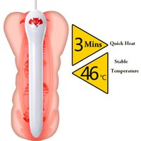 Wholesale Heated Vaginas - Usb Heating For Realistic Vagina Or Masturbator Cup Smart Thermostat 45 Degrees Sex Products Warmer Heated Bar