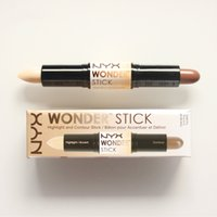 Wholesale Pick Up Dhl - Newest Wonder stick highlights and contours shade stick Light Medium Deep Universal Pick up mixed available NYX concealer ship by DHL