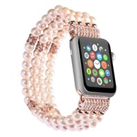Wholesale Apple Men - New model Luxury Her wristband for apple watch band 38mm 42 mm series 1 2 3 agate design strap for iwatch women men