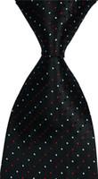 gravata de seda vermelha alaranjada venda por atacado-dos homens do partido Red Jacquard Plaid Tie Silk gravata laranja Design de Moda Wedding Woven csw89