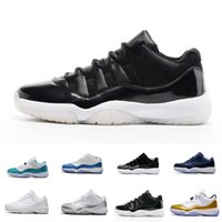 Wholesale frost fabrics - Heiress 11s Low PRM HC Frost White Blue Moon basketball shoes for Men and women barcons outdoor athletic sneaker University Blue Navy Gum