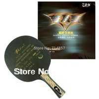 Wholesale Table Tennis Blade 729 - Palio TCT blade + RITC 729 General rubber with sponge for a table tennis racket
