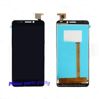 Wholesale Lcd Screen Display For C7 - For Alcatel onetouch POP C7 LCD screen display digitizer with High quality AAA for 7040 OT7041 7041D
