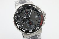 Wholesale Calibre 16 Sapphire - EMS Free Shipping Wholesale - luxury brand watch calibre 16 new limited quartz chrono mens watch sapphire glass original clasp sports TWO TO