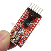 Wholesale Arduino Ftdi Usb - FT232RL FTDI USB to TTL Serial Adapter Module for Arduino Cable Mini Port 3.3V 5V